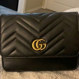 Gucci Crossbody Dupe— Never Used
